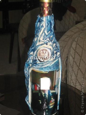 Бутылочки в подарок мужчинам на 23 февраля фото 3