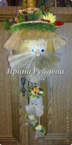 Муженёк да жёнушка. Эти сувениры-обреги  делаются из бутылочной тыквы Лагенарии. Это достаточно большие плоды, размером 35-50см. фото 27