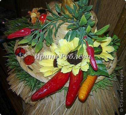 Муженёк да жёнушка. Эти сувениры-обреги  делаются из бутылочной тыквы Лагенарии. Это достаточно большие плоды, размером 35-50см. фото 16