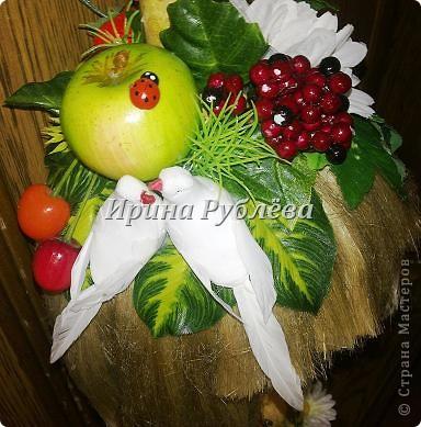 Муженёк да жёнушка. Эти сувениры-обреги  делаются из бутылочной тыквы Лагенарии. Это достаточно большие плоды, размером 35-50см. фото 20