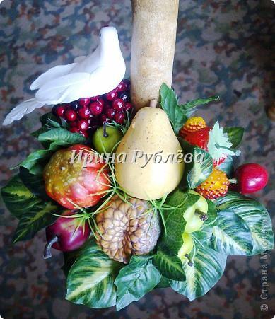 Муженёк да жёнушка. Эти сувениры-обреги  делаются из бутылочной тыквы Лагенарии. Это достаточно большие плоды, размером 35-50см. фото 23