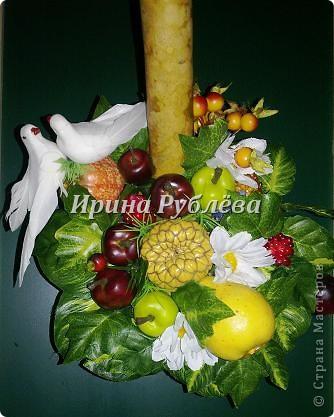 Муженёк да жёнушка. Эти сувениры-обреги  делаются из бутылочной тыквы Лагенарии. Это достаточно большие плоды, размером 35-50см. фото 5