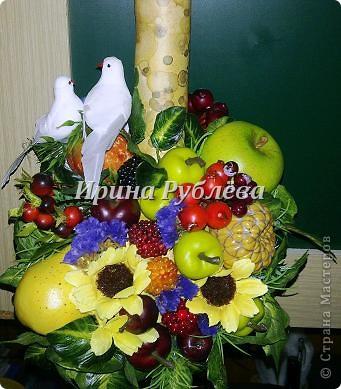 Муженёк да жёнушка. Эти сувениры-обреги  делаются из бутылочной тыквы Лагенарии. Это достаточно большие плоды, размером 35-50см. фото 21