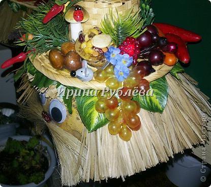Муженёк да жёнушка. Эти сувениры-обреги  делаются из бутылочной тыквы Лагенарии. Это достаточно большие плоды, размером 35-50см. фото 7