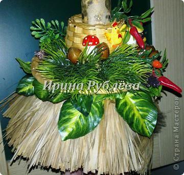 Муженёк да жёнушка. Эти сувениры-обреги  делаются из бутылочной тыквы Лагенарии. Это достаточно большие плоды, размером 35-50см. фото 8