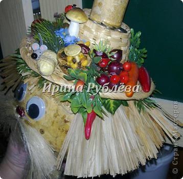 Муженёк да жёнушка. Эти сувениры-обреги  делаются из бутылочной тыквы Лагенарии. Это достаточно большие плоды, размером 35-50см. фото 10