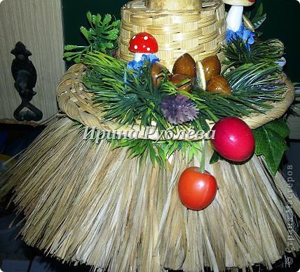 Муженёк да жёнушка. Эти сувениры-обреги  делаются из бутылочной тыквы Лагенарии. Это достаточно большие плоды, размером 35-50см. фото 11
