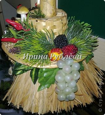 Муженёк да жёнушка. Эти сувениры-обреги  делаются из бутылочной тыквы Лагенарии. Это достаточно большие плоды, размером 35-50см. фото 14