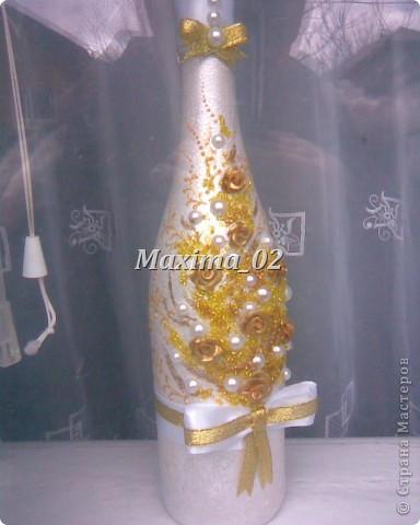 Сначала придумалась вот такая бутылочка,http://stranamasterov.ru/node/177662 фото 1