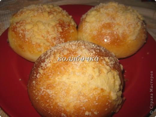 Очень вкусные булочки,но ещё вкуснее посыпка,хрустящая,сладкая. фото 1