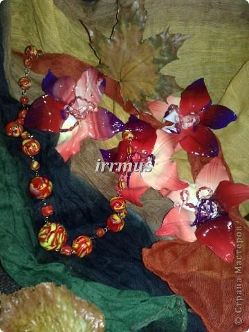 бусы и цветы осенние фото 1