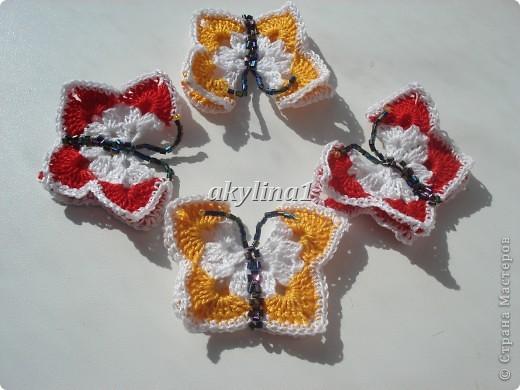 Бабочки на шторы фото 3