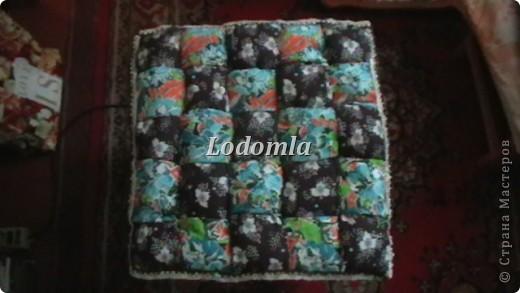 подушка-плетёнка фото 1