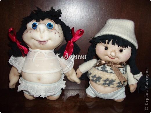 Последние посиделки подружек... Кукол делала по МК PAWY-большое ей спасибо! фото 3