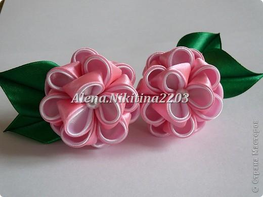 Резиночки розы-пионы фото 2
