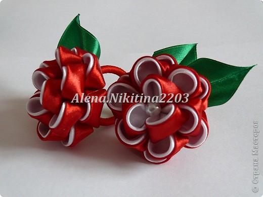 Резиночки розы-пионы фото 3