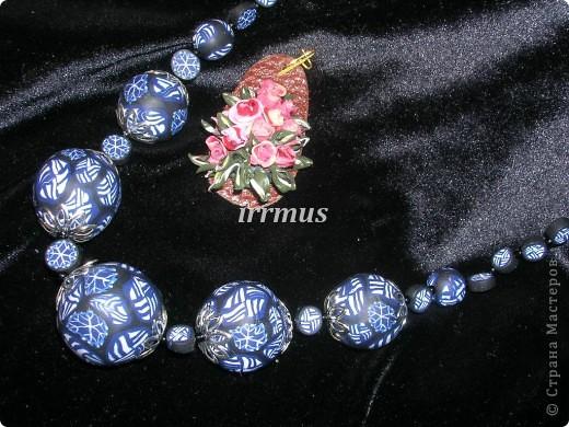 бусы и цветы осенние фото 4