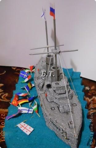 Корабль делали на конкурс.