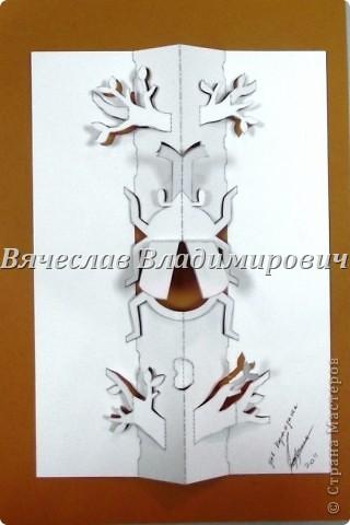 Мои работы киригами фото 7