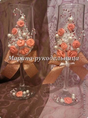 Вот такие стаканчики получились у меня фото 2