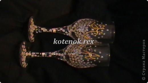 Именные свадебные бокалы фото 2