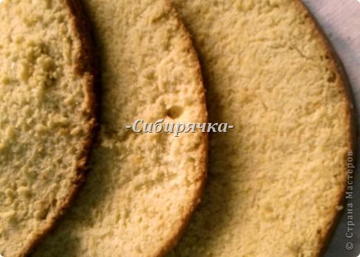 Доброго времени суток! Предлагаю Вам мастер-класс по приготовлению торта со сливочным кремом и фруктами. Для приготовления необходимо: Для теста: - яйцо (6 шт) - сахар (1 ст) - мука (1 ст) - цедра половинки апельсина (лимона) или ванильный сахар для аромата - разрыхлитель-сода (1/2 ч.л.) Для суфле: - желатин (15 г) - сливки (500 г) - сахар (1/2 ст) - фрукты (в моем случае консервированные персики и бананы) - ванильный сахар фото 8