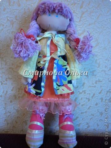 """У меня """"горели"""" глаза и """"чесались"""" ручки, когда я видела этих лялечек.... Несколько дней... И - меня тоже радует эта красотка! Урра! фото 21"""