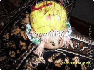 Одна из моих первых работ, черепашка Машка (игольница). Большое спасибо за МК ЛИКМЕ, по которому она сделана и теперь живёт у меня и помогает мне. Жду Ваших комментариев с нетерпением. фото 1