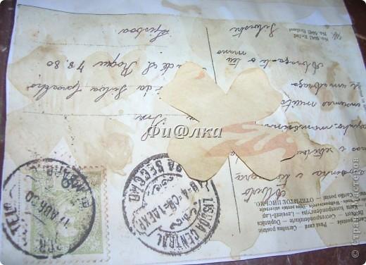 Жила-была коробочка , хранились в ней лекарства.Я решила ее немного преобразить и ...вот что  у меня получилось.  из материалов использовались: картонная коробка, распечатки старых открыток, акриловая краска, бумага, клей ПВА. фото 9