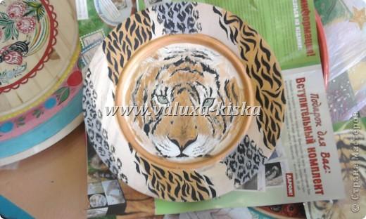 тарелка-лёвка фото 1