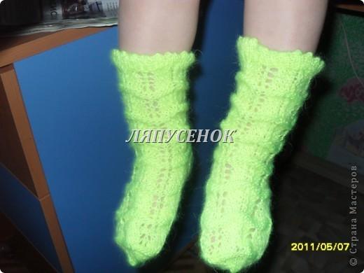 носочки для Анички фото 2
