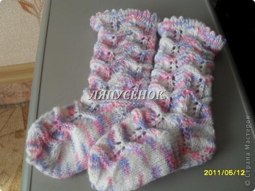 носочки для Анички фото 1