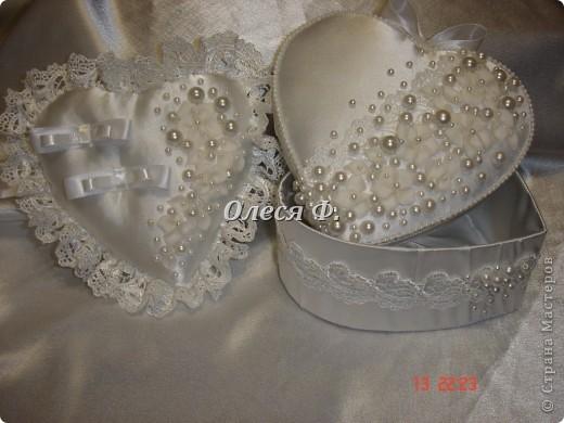 Закончила работу над свадебной шкатулкой.  фото 8
