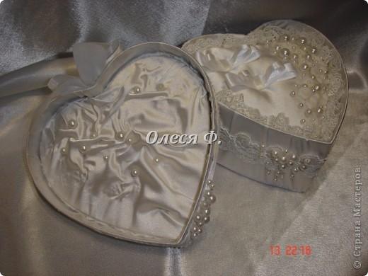 Закончила работу над свадебной шкатулкой.  фото 9