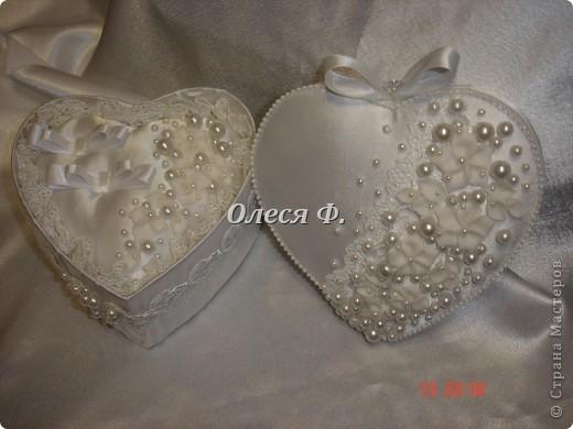 Закончила работу над свадебной шкатулкой.  фото 10