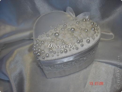 Закончила работу над свадебной шкатулкой.  фото 3