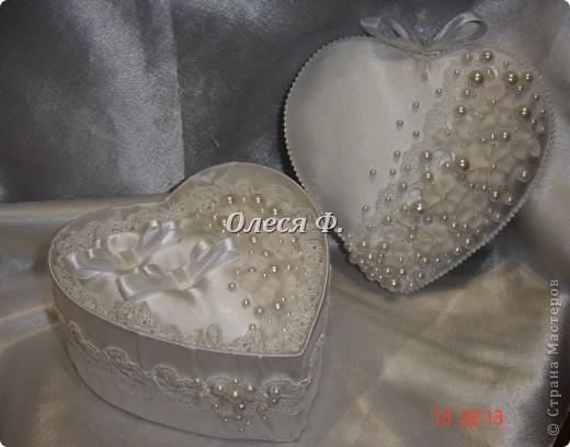 Закончила работу над свадебной шкатулкой.  фото 7