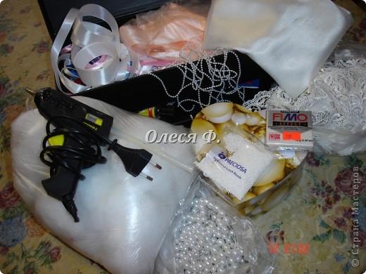 Мастер-класс Свадьба Лепка Шитьё МК - шкатулочка Бусинки Пластика Ткань фото 2
