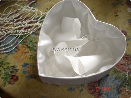 Мастер-класс Свадьба Лепка Шитьё МК - шкатулочка Бусинки Пластика Ткань фото 11