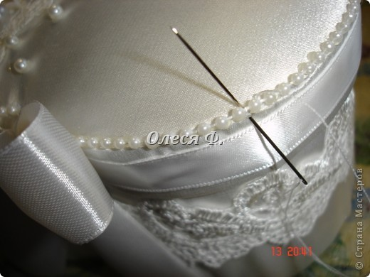 Мастер-класс Свадьба Лепка Шитьё МК - шкатулочка Бусинки Пластика Ткань фото 25