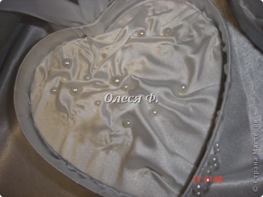Мастер-класс Свадьба Лепка Шитьё МК - шкатулочка Бусинки Пластика Ткань фото 26