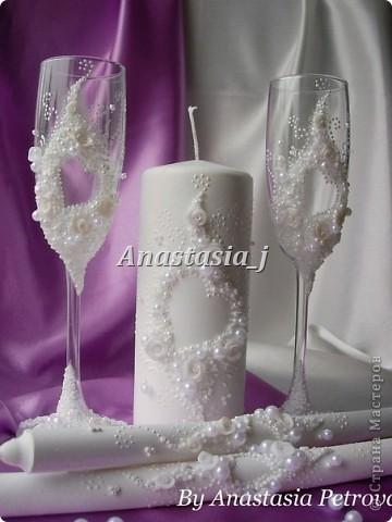 """Свадебный набор """"Сердце на двоих"""""""