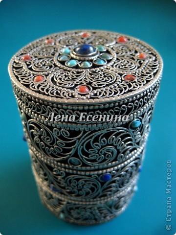 Я собираю шкатулки...  Начало коллекции смотрите здесь:  http://stranamasterov.ru/node/194403 Эта на фото - самая крошечная из всех. Такая милашка! :) Индия фото 21