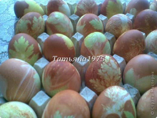 Такие яйца у меня получились к Пасхе. фото 1