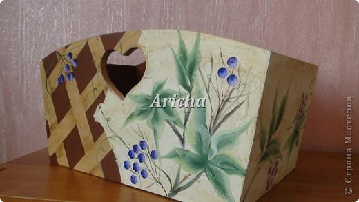 """Коробка по мелочи """"Дикий виноград"""" фото 1"""