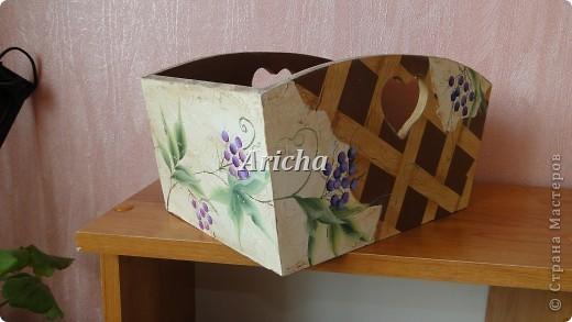 """Коробка по мелочи """"Дикий виноград"""" фото 3"""