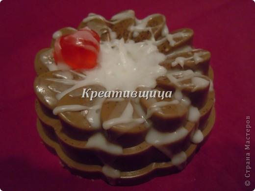 """Подарочное мыло-""""Пирожное"""" фото 2"""