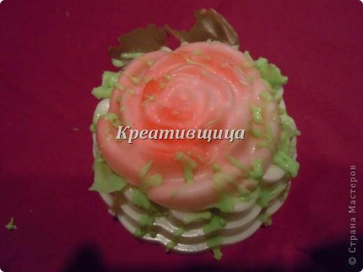 """Подарочное мыло-""""Пирожное"""" фото 5"""