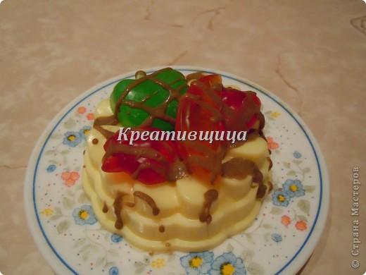 """Подарочное мыло-""""Пирожное"""" фото 4"""