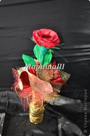 "Букет из конфет ""Роза"" фото 1"